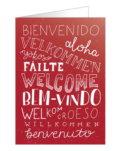 C5640gc languages welcome greeting card pack miscellaneous product information m4hsunfo