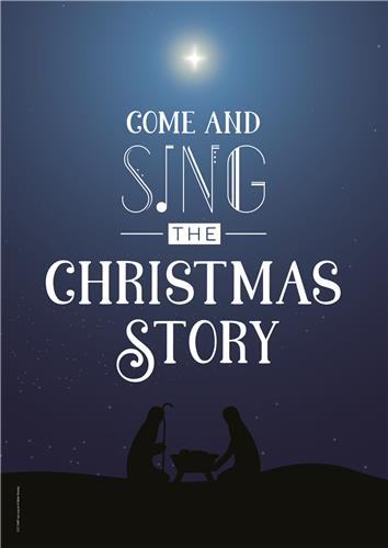 Come and Sing – Message Poster