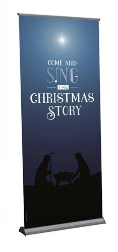 Come and Sing - Message Roll-up Banner