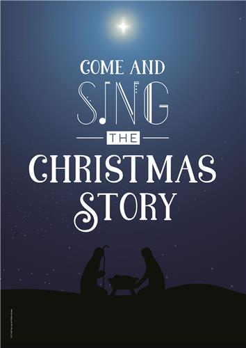 Come and Sing – Customise poster with one line of text