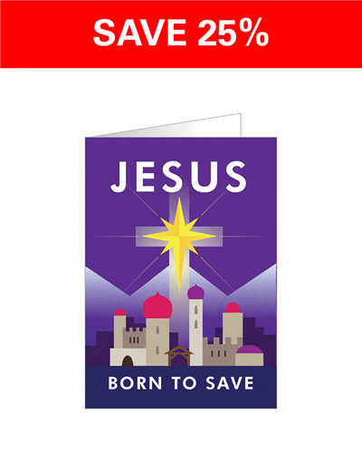 Jesus Born to Save