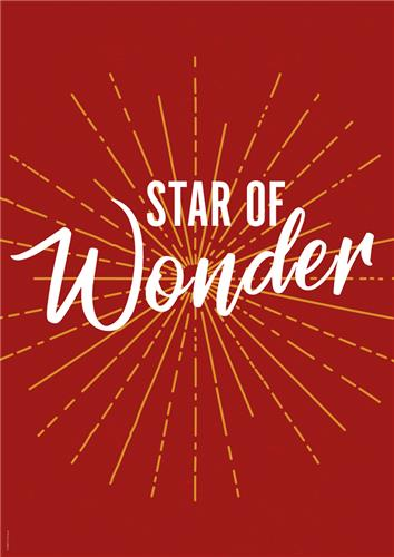 C5726MP - Star of Wonder Message Poster : Portrait posters with a ...
