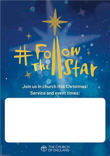 Follow the Star Customisable Poster