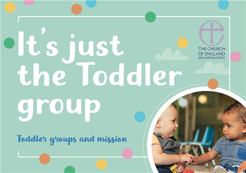 Toddler Groups and Mission Booklet