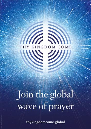 Thy Kingdom Come Message Poster
