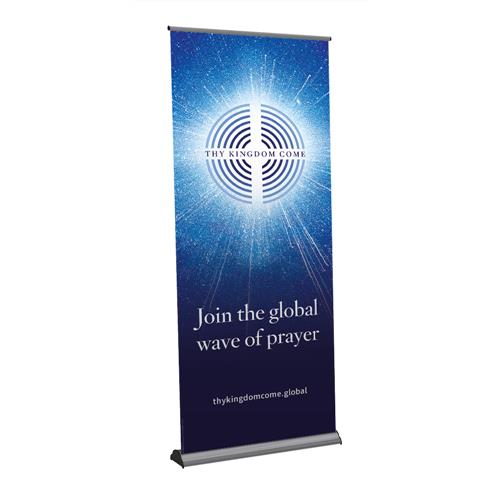 Thy Kingdom Come - Message Roll-Up Banner