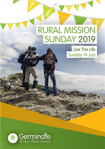 Rural Mission Sunday - Message Poster