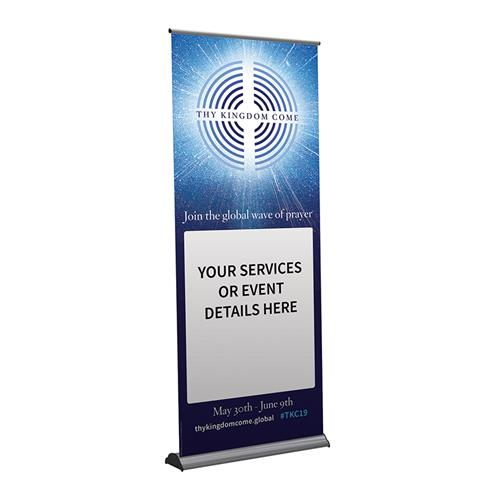TKC Join in - Customisable Pull-up Banner