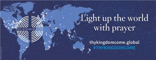 TKC Light up the World Social Media Banner