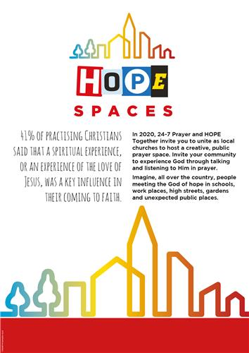 Hope Spaces - Message Poster