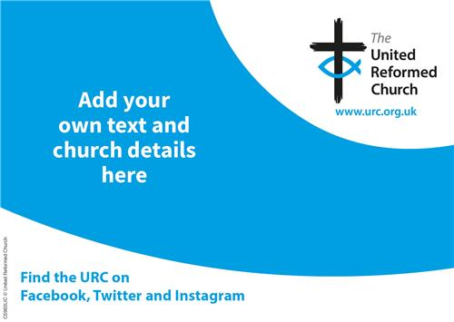 URC Blue Template - LS Postcard