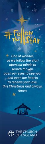 Follow The Star - Bookmark