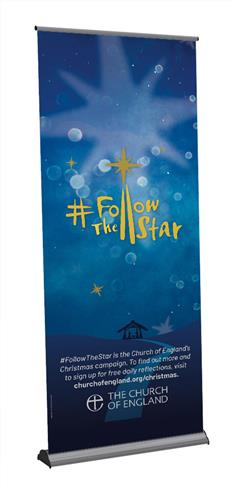Follow The Star - Roll-Up Banner
