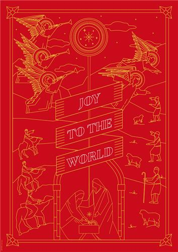Joy to the World Red