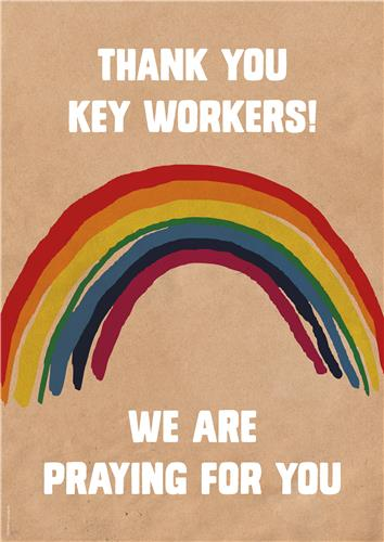 Thank you Keyworkers
