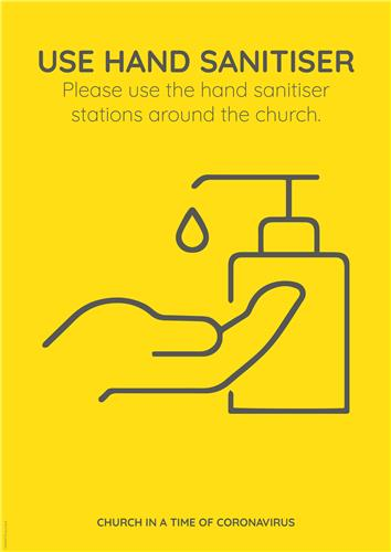 Use Hand Sanitiser (COVID-19)