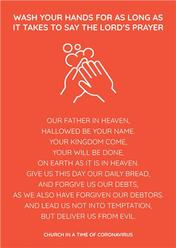 Wash Hands Prayer (COVID-19)