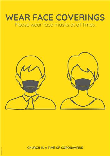 Face Mask Message Poster