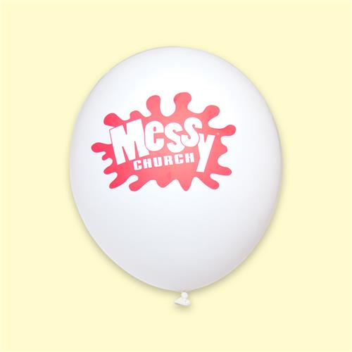 Messy Church - Balloons (Pk10)