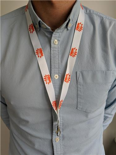 Messy Church - Lanyard