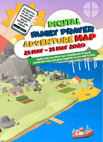 TKC Family Adventure Prayer Map 2020