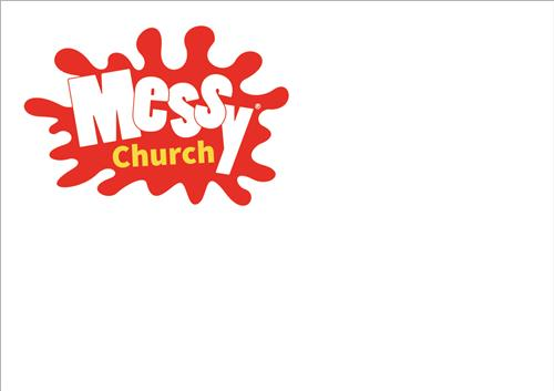 Messy Church - Clip on Badge