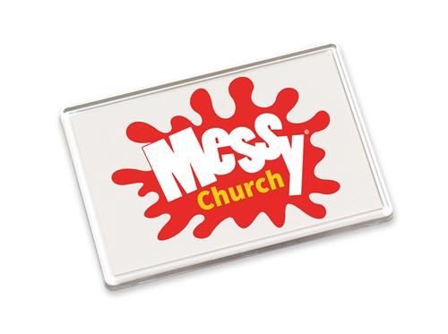 Messy Church - Fridge Magnet