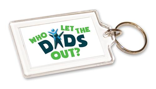 Who Let The Dads Out? - Key Ring