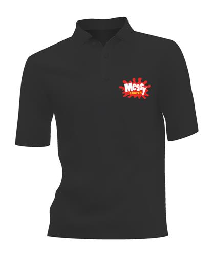 Messy Ladies Polo Shirt