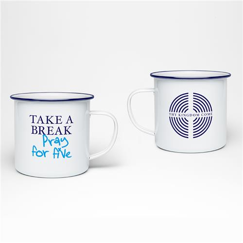 TKC Pray for five - Tin Mug