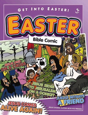 Easter Bible Comic.