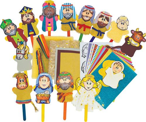 Nativity Stick Puppets PK30