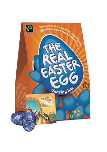 Real Easter Egg Sharing Box