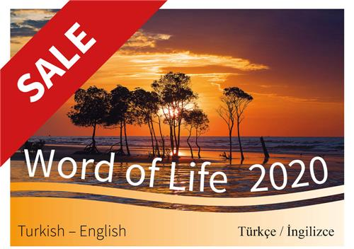 Turkish and English 2020 Calendar