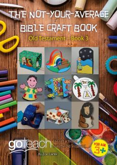 THE NOT-YOUR-AVERAGE BIBLE CRAFT BOOK 3